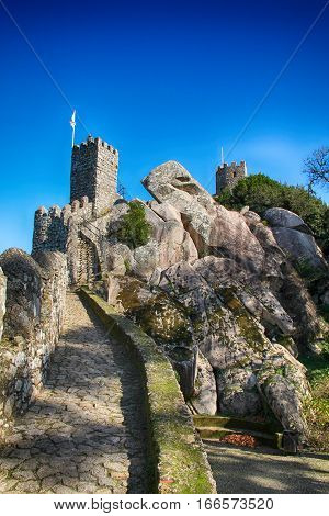 Picture of Castelo dos mouros in Sintra, Lisbon