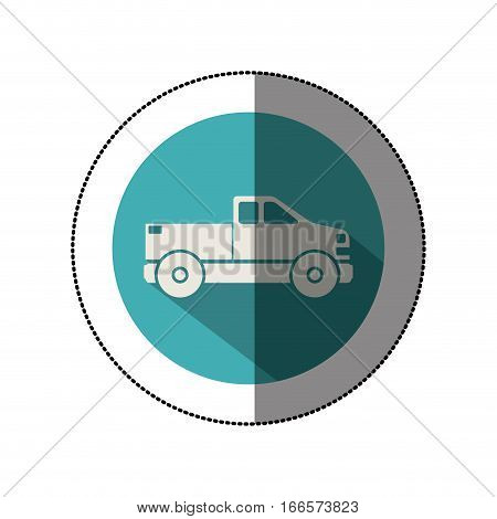 Isolated pick up vehicle icon vector illustration graphic design