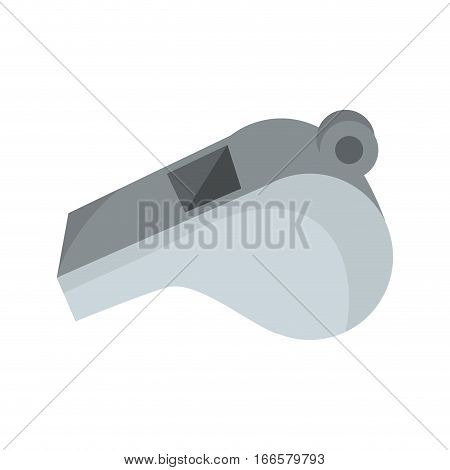 whistle referee isolated icon vector illustration design