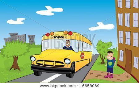 Back To School. Vector Image.