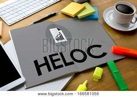 HELOC (Home Equity Line of Credit)  anxiety, bank, bankrupt, bankruptcy