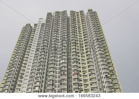 High Apartment Building  On Tat Estate