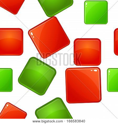 Click and selection pattern. Cartoon illustration of click and selection vector pattern for web