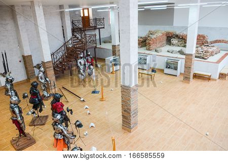 Belarus, Minsk - April 08/2015: The Museum Opened To Visitors After Restoration Of Exhibits.