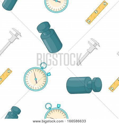 Weight and length pattern. Cartoon illustration of weight and length vector pattern for web