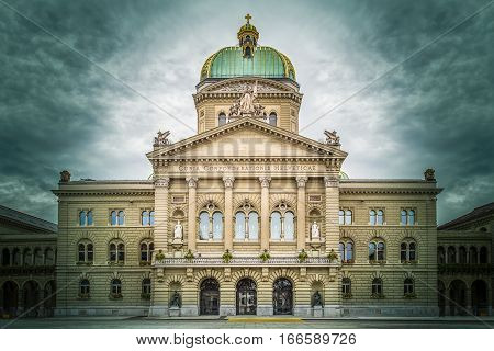 Bundeshaus, Bern, Switzerland