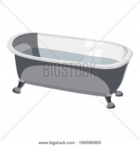 Bathtub icon. Cartoon illustration of bathtub vector icon for web design