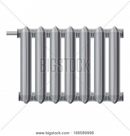 Radiator icon. Cartoon illustration of radiator vector icon for web design
