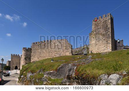 Walls and Castle of Penela Beiras region Portugal