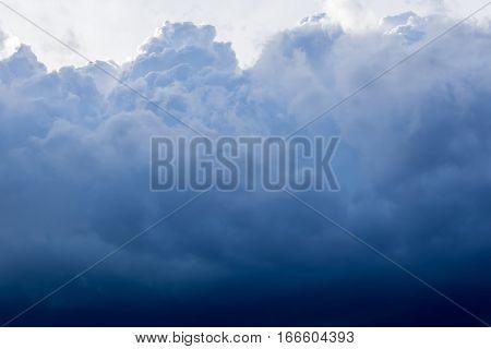 Dark Grey Storm Clouds