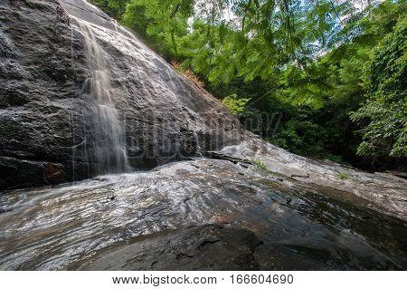 Beautiful waterfall in chantaburi province asia southeast asia Thailand