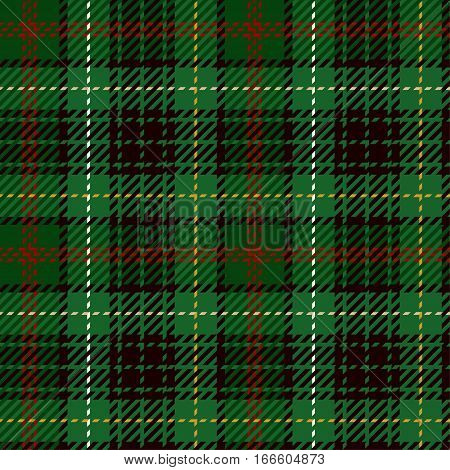 Tartan Seamless Pattern Background. Green Red Black Yellow and White Plaid Tartan Flannel Shirt Patterns. Trendy Tiles Vector Illustration for Wallpapers.