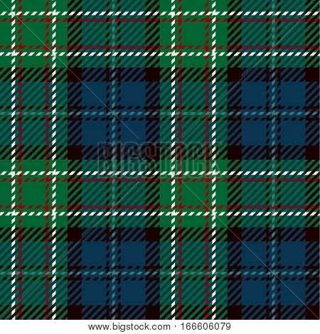 Tartan Seamless Pattern Background. Red Black Green White and Blue Plaid Tartan Flannel Shirt Patterns. Trendy Tiles Vector Illustration for Wallpapers.