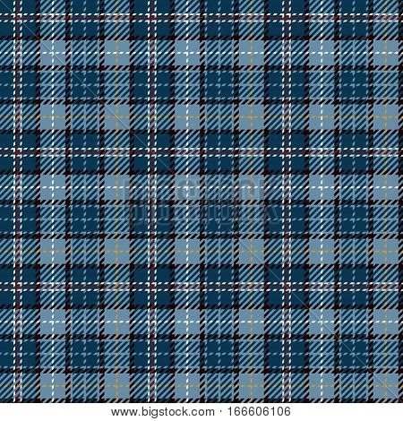 Tartan Seamless Pattern Background. Red Black Gold White and Blue Plaid Tartan Flannel Shirt Patterns. Trendy Tiles Vector Illustration for Wallpapers.