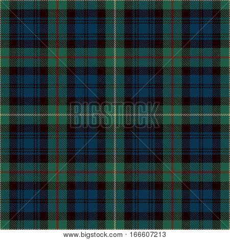 Tartan Seamless Pattern Background. Blue Black Green Red and Gold Plaid Tartan Flannel Shirt Patterns. Trendy Tiles Vector Illustration for Wallpapers.