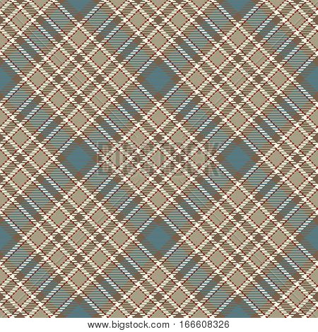 Tartan Seamless Pattern Background. Red Blue Beige and White Plaid Tartan Flannel Shirt Patterns. Trendy Tiles Vector Illustration for Wallpapers.
