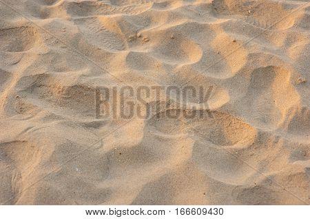 closeup : sand on the beach view beach sand background