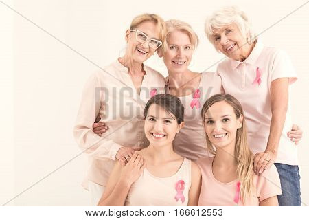 Multigenerational Women And Campaign