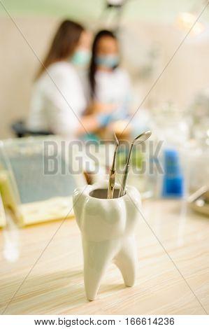 Dental Tools. Medical Equipment