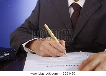 Sign Contract