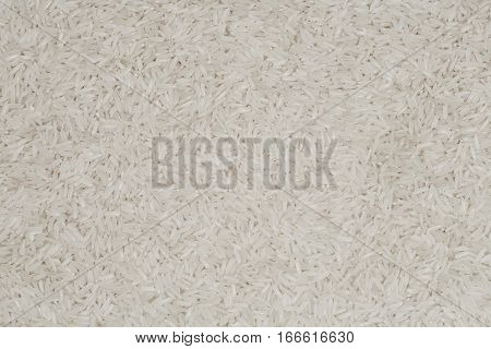 jasmin white rice background, asian food closeup, basmati rice