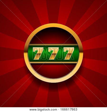 Jackpot Banner  For Winners Eps 10 Vector.
