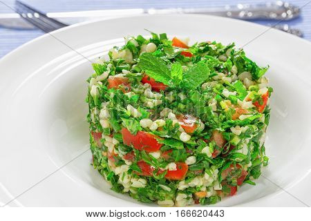 Tabbouleh Or Parsley, Peppermint, Spring Onion, Tomato Salad