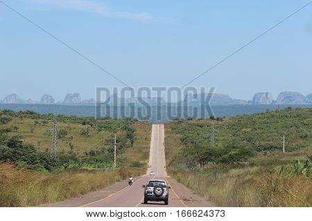 Traveling to Pungo Andongo (Pedras De Pungo Andongo) - Angola - Africa