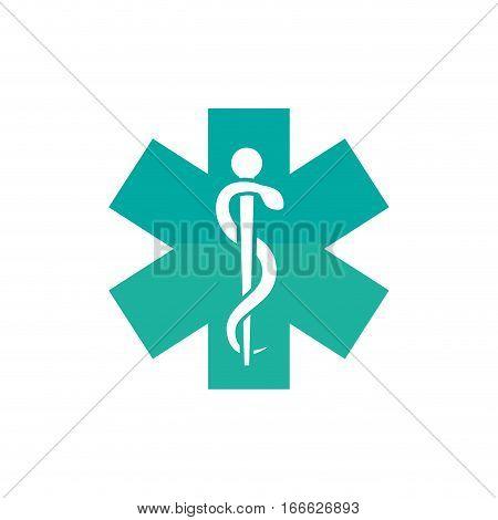 Medical healthcare service icon vector illustration graphic design
