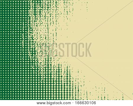 Halftones background. Distress Dirty Damaged Spotted Circles Overlay Dots Texture. Grunge Effect .