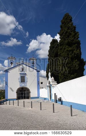 Santo Antonio church in the village of Redondo Alentejo region Portugal