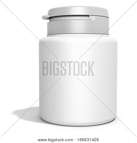 Pill Box Unlabeled For Medicine