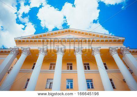 Sollege building Voronezh Pedagogical University of Russia