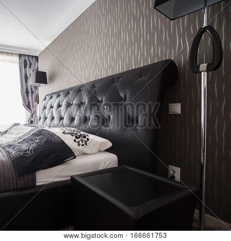 Double Bed In Luxury Bedroom