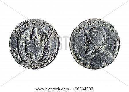 Coin Of Half Balboa
