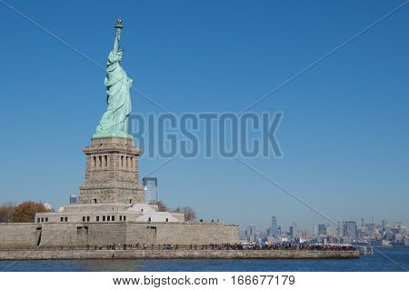 Statue of Liberty National Monument in New York City