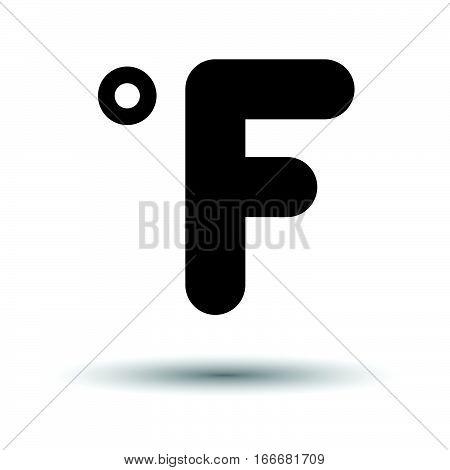 Fahrenheit Degree Icon