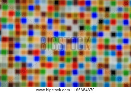 Mosaic consisting of little glass stones as a background