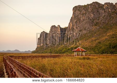 Mountain at Khao Sam Roi Yot National ParkThailand