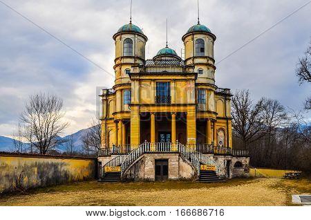 Hdr La Bizzarria Building In Venaria