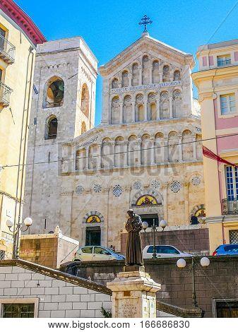 Hdr Santa Maria Cathedral In Cagliari