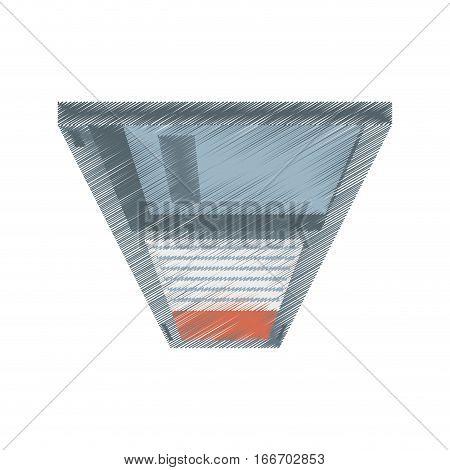 drawing floppy diskette storage computer vector illustration eps 10