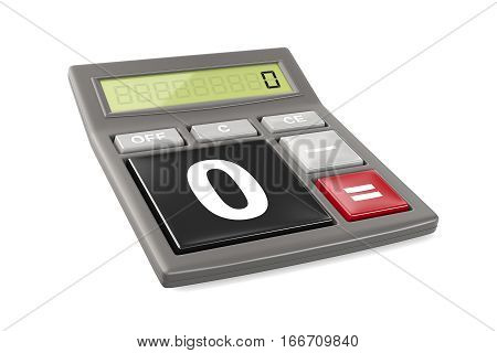 Calculator only with Zero and Minus buttons