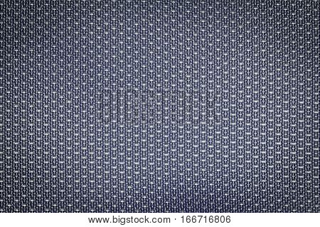 Gray fishnet cloth material as a texture background. Nylon texture pattern or nylon background for design with copy space for text or image.