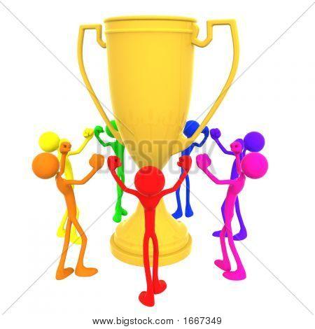 Full Spectrum Huge Trophy Team Champions