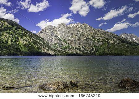 Jenny Lake in Grand Tetons National Park