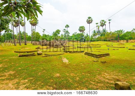 Jaffna Kandurugoda Archeological Site Stupas H