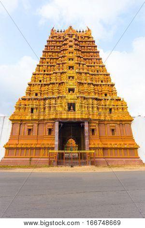 Jaffna Nallur Kandaswamy Temple Gopuram Front