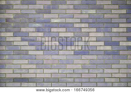 Colored Brick Wall Texture