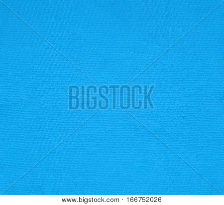 surface blue fabric cotton texture for background